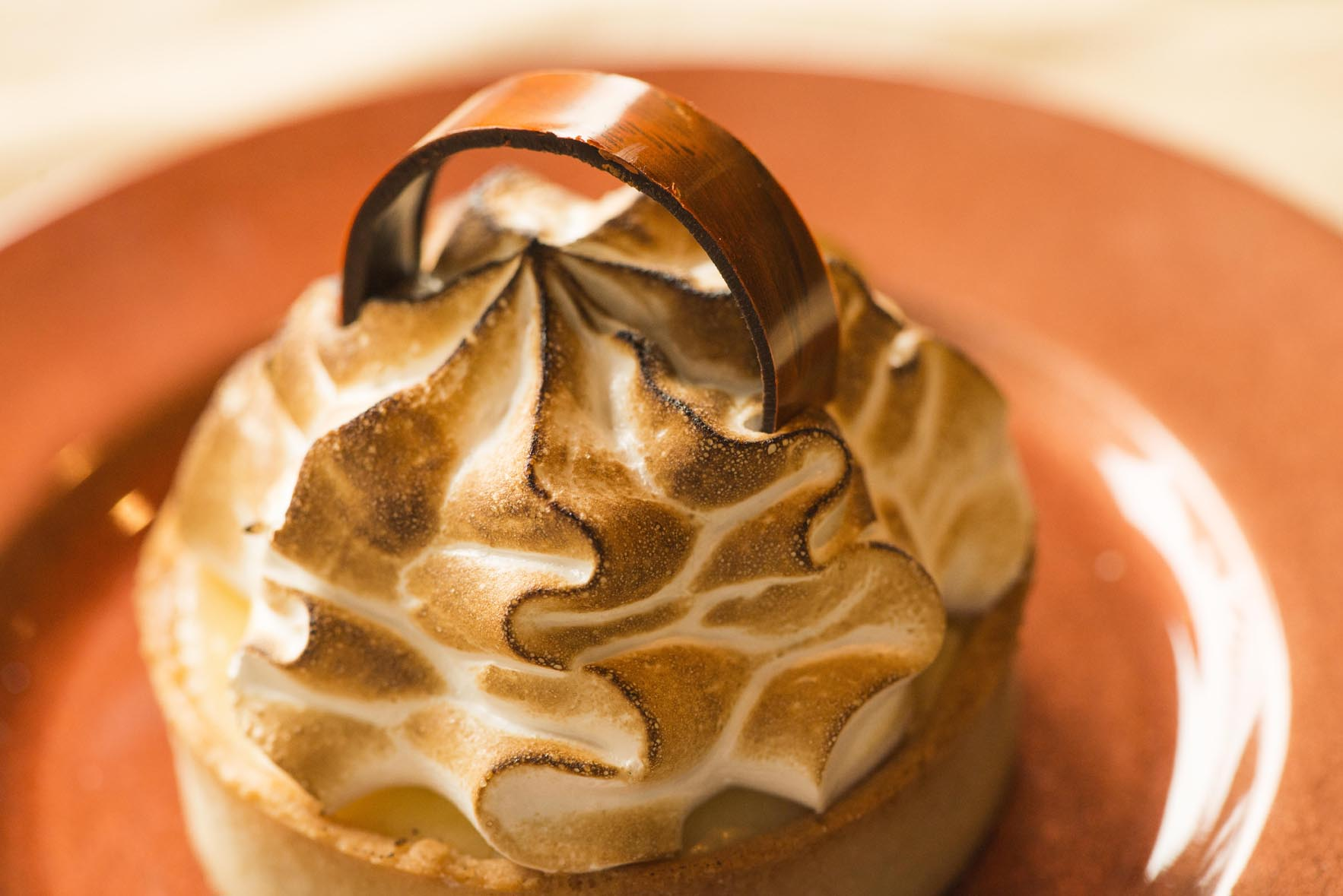 Lemon Meringue Tart Cocoa Bean Genvea