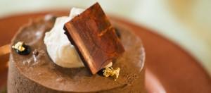 Anna (white cake, chocolate banana mousse, rum vanilla creme brûlée)